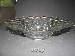 15 Large Fruit Console centerpiece Punch BOWL Fostoria Glass Crystal AMERICAN