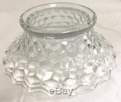 18 Fostoria American Clear Punch Bowl & Stand Punchbowl