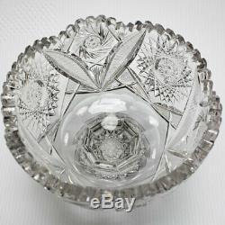 ABP Cut Glass Punch Bowl