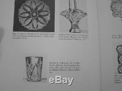 American Brilliant Cut Glass Meriden #136 14 Punch Bowl Complete Ladle Cups