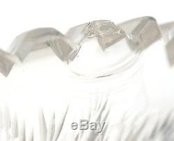 American Brilliant Cut Glass Punch Bowl & 12 Matching Punch Cups