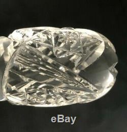 Antique ABP American Brilliant Cut Glass Punch Bowl Ladle