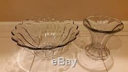 Antique Heisey Glass Punch Bowl (Great Condtion!)
