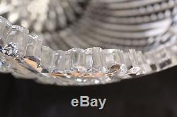Antique Magnificent American Brilliant Cut Glass Crystal Abp Punch Bowl