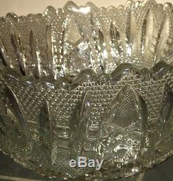 Antique Punch Bowl Set (packed By FedEx)