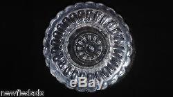 Argus HUGE punch bowl / Pedestal EAPG Bakewell Pears & Co Flint Ashburton Glass