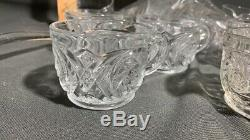 Awesome Huge Rare Antique Punch bowl on Rasied Base 22.5 Tall Solid Piece