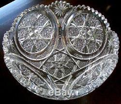Clark signed Alford Circles Punch Bowl MARLBOROUGH catalogued 1905 MONUMENTAL