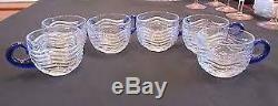Duncan Miller Cobalt Blue Caribbean Punch Bowl Set