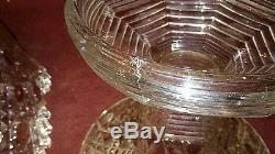 EAPG Antique Pressed Glass Large Punch Bowl