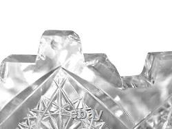 Ea. 20thc American Brilliant Era Cut Punch Bowl Prima Donna Pattern by T. B. Clark