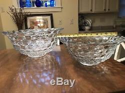 Fostoria American Punch Bowls