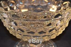 Fostoria American Tom and Jerry Footed Punch Bowl