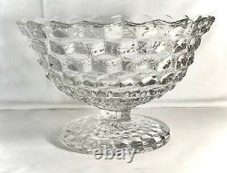 Fostoria Crystal American 12 Tom & Jerry Punch Bowl