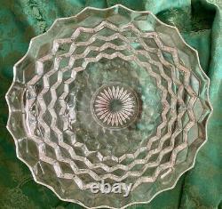 Fostoria Glass Punch Bowl