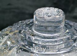 Gorgeous Hawkes Holland American Brilliant Cut Glass Punch Bowl ABP Well-Done