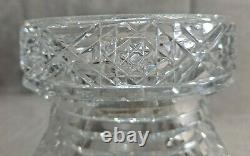 Hawkes Cut Glass Holland 15 Punch Bowl with Pedestal American Brilliant ABP