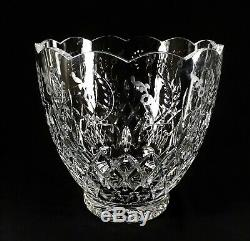 Huge Rogaska Gallia Crystal Bowl Ice Bucket Vase Wine Cooler Punch Bowl Gorgeous