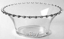 Imperial Glass Ohio CANDLEWICK CLEAR (STEM #3400) Belled Bowl Punch Base 4423619