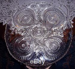 L E SMITH PINWEELS & STARS (SLEWED HORSESHOES) PATTERN 26 PIECE PUNCH BOWL SET