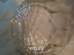 L. E. Smith Old Dominion Punch Bowl & 18 Cups Punchbowl