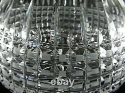 Large Antique BACCARAT Flawless Crystal 3.2 Kilos Punch Bowl with Cover