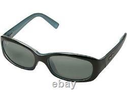 Maui Jim PUNCHBOWL Polarized Sunglasses Black-Blue/Gray 219-03 Display