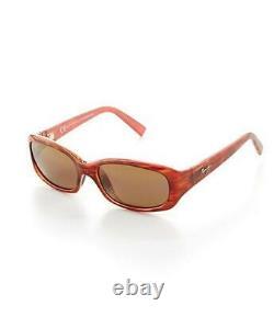 Maui Jim PUNCHBOWL Polarized Sunglasses Tortoise Pink/Bronze 219-12 Display