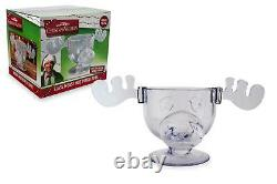 National Lampoon's Christmas Vacation Griswold Moose Punch Bowl 136 Ounces