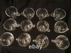 Pitman-Dreitzer Punch Bowl Set with Ladle & 12 Cups (Vintage 60's)
