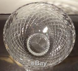 RARE Waterford Crystal MASTER CUTTER Masive Punch Bowl 12 Made in IRELAND