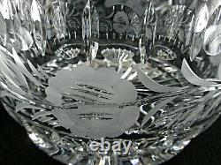 Rare Antique BACCARAT Flawless Crystal 3.2 Kilos Punch Bowl with Etched Anemones