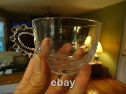 Rare Candlewick 400/210 12 pc Punch Bowl Set