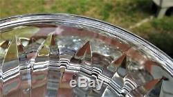Raremassive Pedestal Punch Bowl Signed Jim O'leary Waterford 12lb's