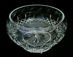 Rogaska Gallia Crystal 10 Punch Bowl Good Condition