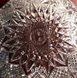 Stunning Dorflinger Essex One Piece Punch Bowl American Brilliant Cut Glass