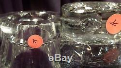 Superb American Brilliant Period Large Cut Crystal Punch Bowl, Stand, & Ladle