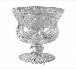 Thistle Punch Bowl Edinburgh Manufactured 30% Lead Crystal in Presentation Box