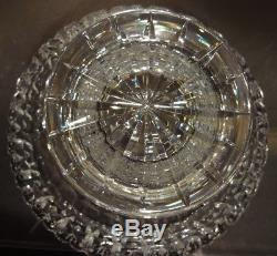 VINTAGE Waterford Crystal MASTER CUTTER Footed Punch / Centerpiece Bowl 10