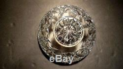 VINTAGE Waterford Crystal Master Cutter Footed Punch Bowl 10 Made in Ireland