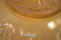 Vintage Brown Glass Complete Punch Bowl Set 14 Pieces