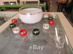 Vintage Gucci Punch Bowl Set