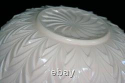 Vintage Jeanette Shell Pink Punch Bowl 15 pc. Complete Set