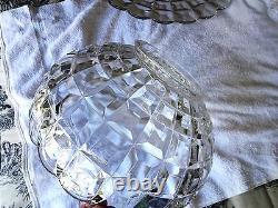 Vintage Tiffin Franciscan Square Diamond punch bowl large plate cups ladle xlnt