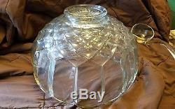 Vtg NOS L E Smith 20 Piece Punch Bowl Set Model 6001 Wedding Day Gift Complete