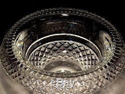WATERFORD CRYSTAL FOOTED PERIOD PIECE 10 TURNOVER ROLLOVER BOWL withPUNCH FILLER