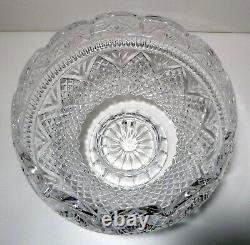 Waterford Crystal DESIGNER GALLERY (1996-2004) Wedding Punch Bowl 10 Ireland
