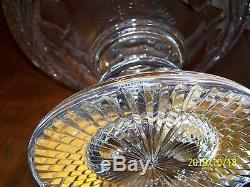 Waterford Crystal Designer Gallery 4/100 Centerpiece Punch Bowl 12w X 10t Ex