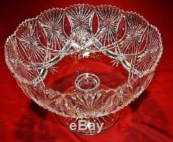 Waterford Crystal Punch Bowl MINT