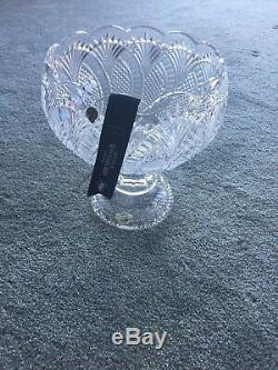 Waterford Crystal Seahorse Punch Bowl 12.5 New in Box